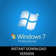 Microsoft Windows 7 Professional Full Complete Version 32 & 64 Bit Product Key