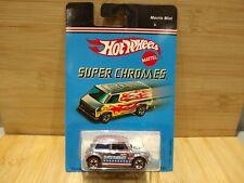 Hot Wheels Vintage MORRIS MINI Cooper Super Chromes Chrome Redline Rare MoC