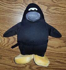 Disney Club Penguin Black Ninja Stuffed Animal Plush (NO COIN.CODE)