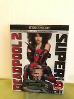 DeadPool 2, 4K Ultra HD, Blue-Ray, Digital Super Duper Cut Brand New with Sleeve