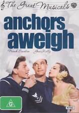 Anchors Aweigh NEW DVD Gene Kelly Frank Sinatra Kathryn Grayson REGION 4 Austral
