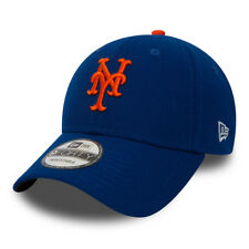 NEW ERA NEW YORK METS BASEBALL CAP.9FORTY MLB THE LEAGUE NY BLUE ADJUSTABLE HAT