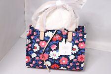 Kate Spade New York Washington Square Floral Sam Satchel/Bag - Rich Navy Multi
