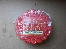 Yankee Candle Usa Rare Cranberry Peppermint Wax Tart
