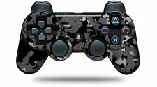 Skin for PS3 Controller WraptorCamo Old School Camouflage Camo Black