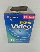 Fujifilm: DVR+R Video Discs - 4.7GB/120 Min