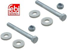 Mercedes W203 W211 X2 Control Arm Bolt Kit Low Inner Eccentric Camber Caster