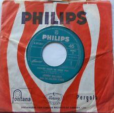 JOHNNY HALLYDAY & GOLDEN STARS Douces Filles de 16 ans CANADA 1963 JUKEBOX  45