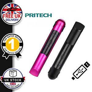 Wireless Cordless Professional Mini Hair Straighteners LED Fast Heat Travel UK