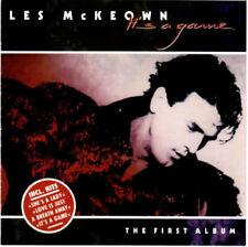 LES McKEOWN.IT`S A GAME. RARE 80.CD.+ BONUS.MODERN TALKING,BLUE SYSTEM,C.C.CATCH