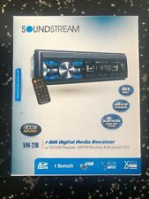 SOUNDSTREAM CAR AUDIO 1-DIN VM-21B USB BLUETOOTH DIGITAL MEDIA RECEIVER STEREO
