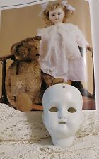 URALT gemarkt Porzellan Puppenkopf RECKNAGEL Puppe Spielzeug shabby JDL Bisquit