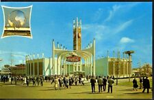 NEW YORK, WORLD'S FAIR, 1964-1965, THE COCA-COLA PAVILION, OFFICIAL CARD, (477
