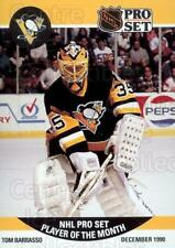 1990-91 Pro Set Player of the Month #1 Tom Barrasso