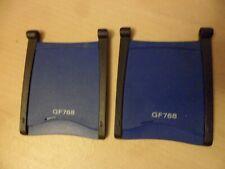 2 PCS. ORIGINAL! Ericsson GF768 Flip Cover. NEW!