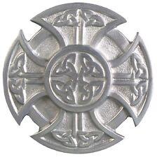 "3/4"" Cross Belt Buckle Celtic Irish Knot - 2"