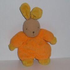 Doudou Lapin Influx - Orange Jaune