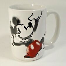 Mickey Mouse Mug Oh Yeah! Zak Designs Watercolor Painting Stylized Coffee Cup