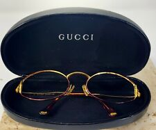 Vintage Gucci Gg2602 56[]19 125 Eyeglasses/Sunglasses w Gucci case *Frames Only*