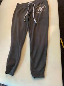 AEROPOSTALE NYC Women's Grey Drawstring Sweat Pants SZ Large