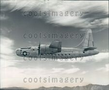 1945 Consolidated RY-3 Transport Plane in Flight Press Photo