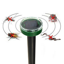 Solar Power Eco-Friendly Ultrasonic Gopher Mole Snake Mouse Graden Pest Rejecter