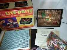 Deluxe Lite Brite by Hasbro 1st Original 1967 1st Generation with Box