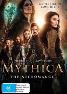 Mythica - Necromancer (DVD, 2017)*R4*Terrific Condition
