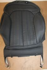 Audi A6 S6 C7 front right Recaro seat backrest cover 4G0881806L 22A Genuine Audi