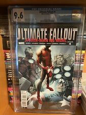 ULTIMATE FALLOUT #4 CGC 9.6 1ST MILE MORALES 1ST PRINTING SPIDER-MAN