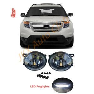 Bumper Driving LED Bulb x Fog Light For Ford Explorer 2011-2015 / C-MAX TAURUS
