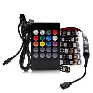 5V USB LED Strip 5050 RGB Changeabl LED TV Background Lighting 0.5-5M DIY Flexib