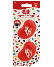jelly belly muy cereza mini ventilación 3d gel dúo paquete ambientador coche fra