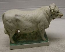 Charolais Bull Decanter by Ski Country in 1974 with styrofoam coffin