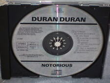 Notorious By Duran Duran 1986 CD EMI Records Ltd. Made In UK