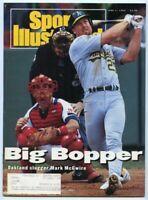 SI: Sports Illustrated June 1, 1992 Mark McGwire, Baseball, Oakland Athletics, G