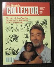 1990 INSIDE COLLECTOR Magazine #4 VF- 7.5 Tarzan Pedal Cars Tin Can Collecting