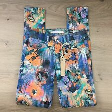Dylan George Runway Midrise Skinny Floral Women's Jeans Size 24 NWT (PP20)