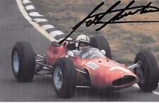 John Surtees SIGNED Ferrari Portrait Photo Postcard by The Grand Prix Collection
