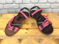 PETER STORM LADIES UK 6,8 BROWN PINK BRIXWORTH SANDALS HOLIDAY SUMMER