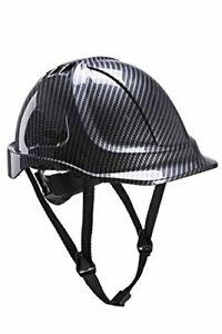 Portwest Endurance Carbon Look Vented Safety Helmet - PC55