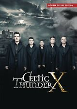 CELTIC THUNDER - X DVD Double Deluxe EDITION ~ NTSC All Regions ~ IRELAND *NEW*