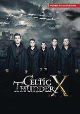 CELTIC THUNDER - X DVD Double Deluxe EDITION ~ NTSC All Regions ~ IRELAND *NEW*