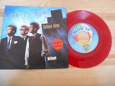 """7"""" NDW Hubert Kah - Goldene Zeiten / Millionen BLOW UP red vinyl"""