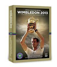 Wimbledon 2013 Collector's Edition 3 [DVD] NEU Finale + Andy Murray Doku Tennis