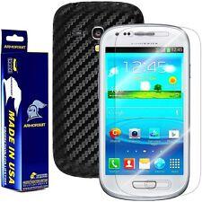 ArmorSuit MilitaryShield Samsung Galaxy S3 Mini Screen + Black Carbon Fiber!