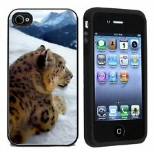Leopard For Apple iPhone 4 or 4s Case / Cover All Carriers