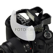 White Color Puffer Pop-up Flash Diffuser for Camera DSLR SLR Canon Nikon Pentax