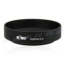 Kiwifotos Metal Lens Hood for Contax 45mm lens for G2 G1 replaces GG-2 Black