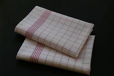 100  Stück Geschirrtücher  100% Baumw. - ROT -95 Grad Wäsche  50 x 70 cm